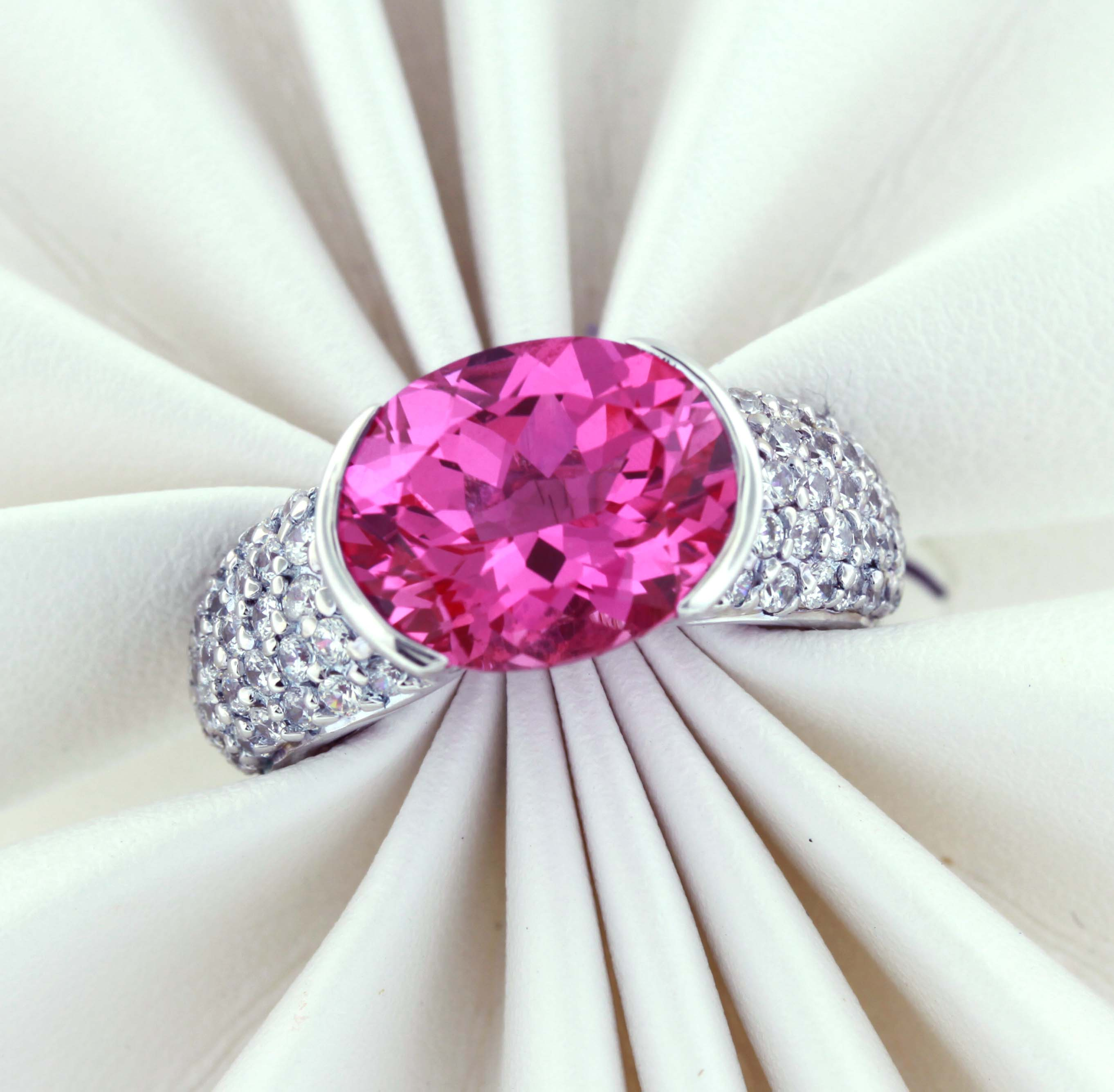 affordable pink sapphire ring - affordable pink sapphire ring